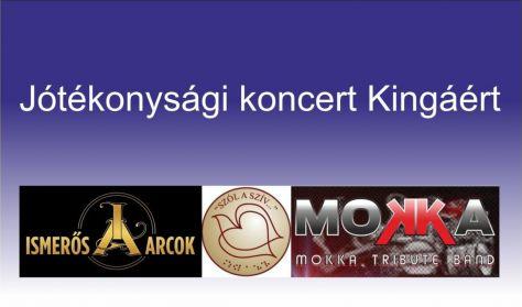 Jótékonysági koncert Kingáért