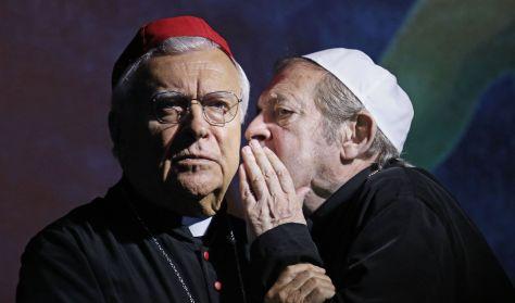 A két pápa - Lukács Sándor, Jordán Tamás, Molnár Piroska, Trokán Anna