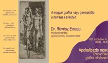 A magyar grafika... - Révész  Emese művészettörténész előadása: Kondor Béla