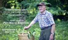 Szabó Gyuri bácsi előadása Szentendrén