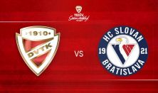 DVTK Jegesmedvék - HC Slovan Bratislava