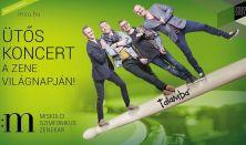 Ütős zene világnapi koncert