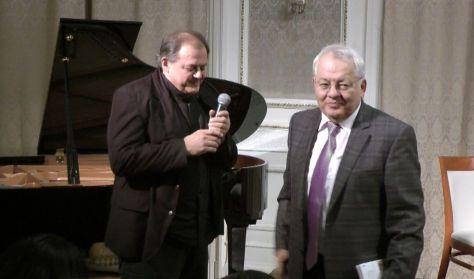 Binder Károly és Doncsev Toso közös szerzői estje