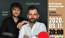 Libikóka – Grecsó Krisztián és Hrutka Róbert zenés pódiumestje