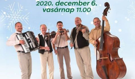 Családi vasárnap:Kolompos együttes ünnepi koncertje
