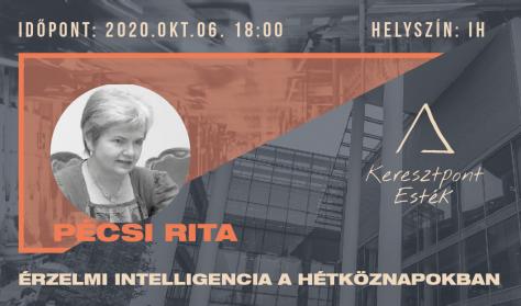 Keresztpont esték 7. - Pécsi Rita: Érzelmi intelligencia a hétköznapokban