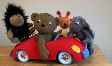Boribon autózik - Nefelejcs Bábszínház előadása