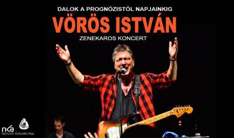 Vörös István zenekaros koncert Dalok a prognózistól napjainkig