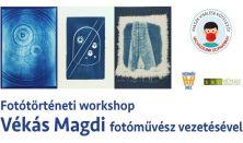 Fotótörténeti workshop Vékás Magdi fotóművésszel