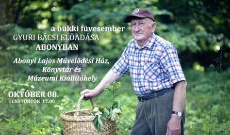 Szabó Gyuri bácsi előadása Abonyban