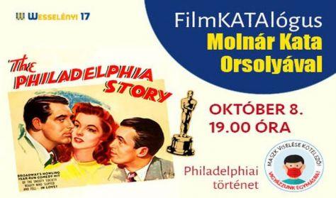 FilmKATAlógus Filmklub: Philadelphiai történet