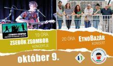 Zsebők Zsombor koncert és EtnoBazár koncert