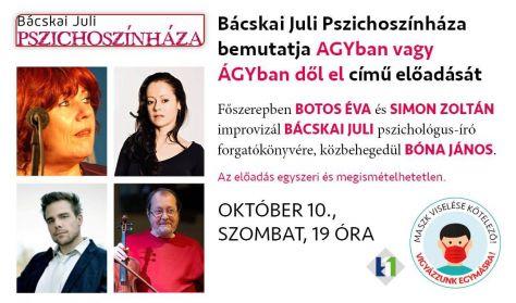 Bácskai Juli Pszichoszínháza //október 10.