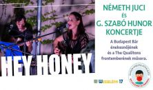Hey Honey Németh Juci - G. Szabó Hunor koncert