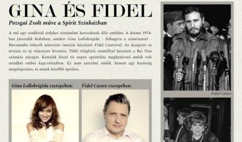 Gina és Fidel - találkozás