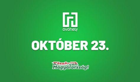 Október 23. - zenés irodalmi műsor