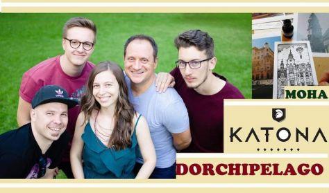 Dorchipelago lemezbemutató koncert a Katona Borházban