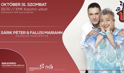 Sárik Péter és Falusi Mariann jazzduó koncertje