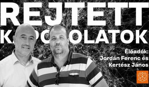 Rejtett kapcsolatok: Jordán Ferenc és Kertész János előadása