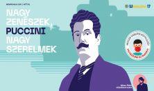 Nagy zenészek, nagy szerelmek: Puccini Bősze Ádám előadása