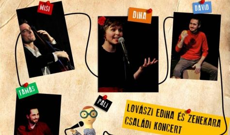 Lovászi Edina és zenekara: Abc koncert