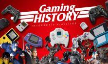 Gaming History - interaktív kiállítás