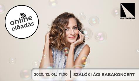 Szalóki Ági babakoncert - online