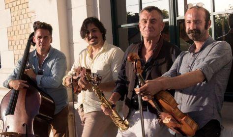 Friss Folk / Dresch Mihály Húros Kvartett, Vendég: Lőrincz Hortenzia