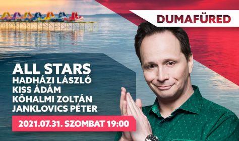 ALL STARS - Hadházi László, Kiss Ádám, Kőhalmi Zoltán, Janklovics Péter