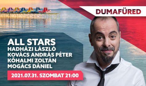 ALL STARS - Hadházi László, Kovács András Péter, Kőhalmi Zoltán, Mogács Dániel
