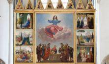 Tárlatvezetés és toronykilátó látogatás a Belvárosi Főplébánia-templomban
