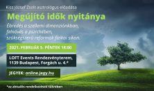 Megújító idők nyitánya / Kiss József Zsolt asztrológus előadása