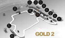 Formula 1 Magyar Nagydíj 2021 - Gold 2 Hétvége Junior (1-12. sor)