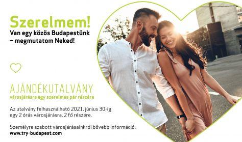 A Szerelmetek Budapestje - Valentin-napi ajándékutalvány párok részére