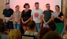 Fehér nyuszi, vörös nyuszi: Gyabronka József (maszkviselés kötelező!)