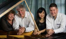BUDAPEST PIANO QUARTET (Hegedűs Endre, Hegedűs Katalin, Baráz (Yajima) Alisa , Baráz Ádám)