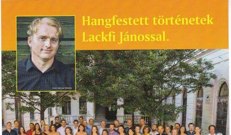 Hangfestett történetek Lackfi Jánossal - Ifjúsági koncert ( 6-12 év) az Óbudai Danubia zenekarral