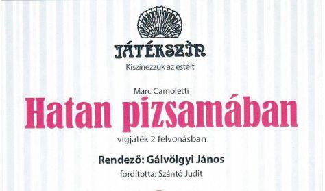 Marc Camoletti-Szántó Judit: Hatan pizsamában -  vígjáték 2 felvonásban -  a Játékszín előadása