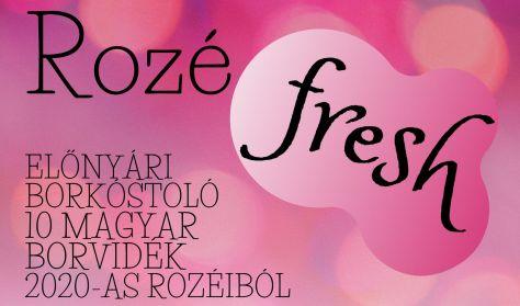 """A somlói borrend bemutatja:"""" Rozé fresh """" - Előnyári borkóstoló 10 magyar borvidék 2020-as rozéiból"""