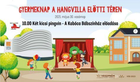 Gyermeknap - Kabóca Bábszínház: Két kicsi pingvin