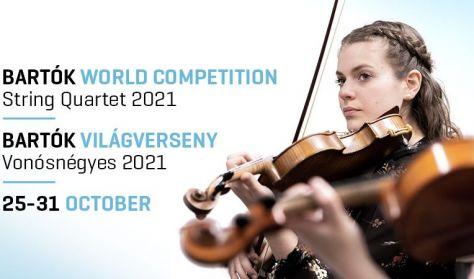 Bartók Világverseny és Fesztivál - Vonósnégyes 2021 / Gálakoncert