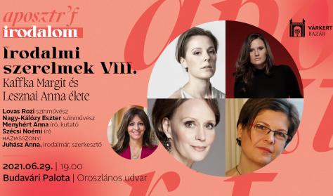 Irodalmi szerelmek VIII.- Kaffka Margit és Lesznai Anna élete - Várkert Irodalom