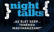 """""""Night Talks"""" Dr. Rusz Edittel zenés beszélgetés szerelemről,kapcsolatról,szexualitásról vacsorával"""
