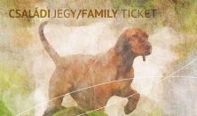 """""""EGY A TERMÉSZETTEL"""" Vadászati és Természeti Világkiállítás - Családi jegy / Family ticket"""