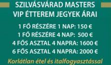 Szilvásvárad Masters -  Nemzetközi Díjugrató Verseny