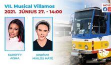 VII. Musical Villamos (14:00-15:00)