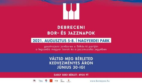 Debreceni Bor- és Jazznapok - Bérlet