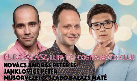 Kovács András Péter és Janklovics Péter, műsorvezető: Szabó Balázs Máté