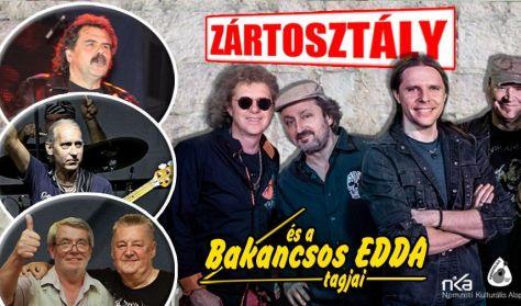 Zártosztály és a Bakancsos Edda tagjai