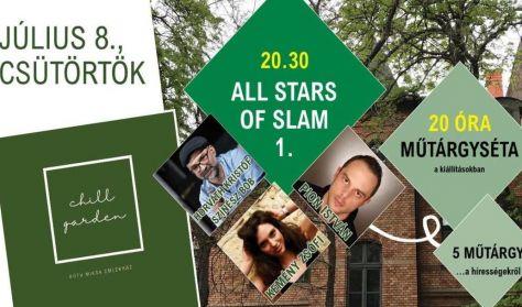 CHILL GARDEN - All stars of slam 1.